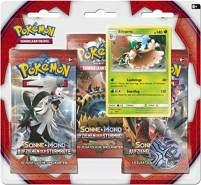 Pokemon 25971 Pokémon Company International 25971-PKM SM04 3-Pack Blister DE