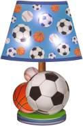 Idena 31255 - LED Wandsticker Lampe Fußball, mit Licht Sensor, ca. 31 x 18 cm