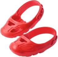BIG - Shoe-Care Schuhschoner - für Kinderschuhe der Größe 21 bis 27, Überschuhe schützen vor Abrieb, Anti-Rutsch-Profil, keine Spuren am Boden, für Kinder ab 1 Jahr, rot
