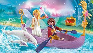 Romantisches Feenboot