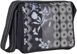Lässig Casual Messenger Bag Wickeltasche/Babytasche inkl. Wickelzubehör Colored black