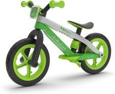 Chillafish Bmxie 2 leichtes Laufrad mit integrierter Fußstütze und Fußbremse, für Kinder 2 bis 5 Jahre, 12' Zoll pannenfreie Gummihautreifen, Verstellbarer Sitz ohne Werkzeug, Rosa-Pink