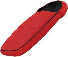 Thule Sleek Premium-Fußsack Energy Red, universell einsetzbar