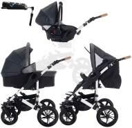 Bebebi myVARIO | 4 in 1 Kinderwagen + ISOFIX | Hartgummireifen | Farbe: myStar