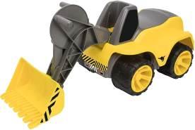 BIG - Power-Worker Maxi-Loader - Kinderfahrzeug, geeignet als Sandspielzeug und für das Kinderzimmer, Baggerfahrzeug zum Sitzen bis 50 kg, für Kinder ab 2 Jahren