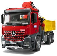 BRUDER 3651 MB Arocs Baustellen-LKW mit Kran