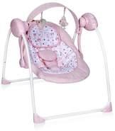 Lorelli Swing Portofino elektrische Babywippe mit Schaukelfunktion, rosa 10090061903