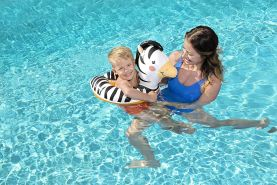 Bestway Schwimmring mit Tierkopf, sortiert