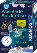 KOSMOS 654160 Fun Science - Wuselnde Salzkrebse, Erwecke die Urzeit zum Leben, Experimentierset für Einsteiger
