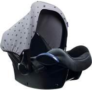 Sonnenverdeck für Babyschalen / UPF 50+ / Magic Rain (Bei Regen erscheinen Sterne)