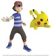 Pokemon 98121 Pokemon 11,4 cm Ash & Pikachu Figuren, Keine Farbe
