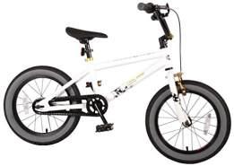 Cool Rider Kinderfahrrad - 16 Zoll - White - mit Rücktrittbremse