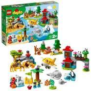 LEGO 10907 DUPLO Town - Tiere der Welt für Kleinkinder