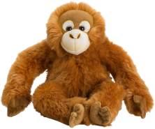 WWF WWF00353 Plüsch Orang-Utan, realistisch gestaltetes Plüschtier, ca. 30 cm groß und wunderbar weich