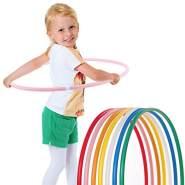 hoopomania® Kinder Hula Hoop Reifen, Durchmesser 70cm in pink
