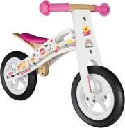 BIKESTAR Kinderlaufrad Lauflernrad Kinderrad für Mädchen ab 2 - 3 Jahre | 10 Zoll Kinder Laufrad Holz | Weiß | Risikofrei Testen