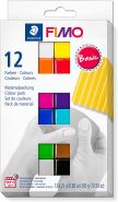 Staedler 'FIMO soft Basic Colours' Modelliermasse, 12 Stück