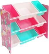 Style home Kinderregal mit 9 Boxen, lila