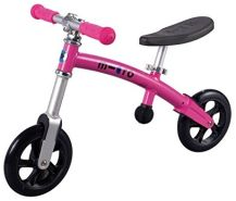 micro g-bike+ 200 mm pink