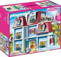 Playmobil Dollhouse 70205 'Mein Großes Puppenhaus', 592 Teile, ab 4 Jahren, mit funktionsfähiger Türklingel