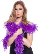 Federboa Boa violett lila 180cm