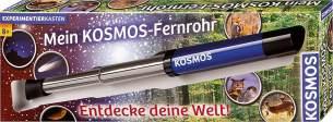 Kosmos 676919 - Mein Fernrohr. Entdecke deine Welt! Linsen-Fernrohr mit 12facher Vergrößerung. Stabiler Okularauszug aus Metall. Teleskop für Kinder ab 8 Jahre. Monokular