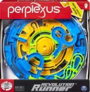Spin Master Games 6053770 - Perplexus Revolution Runner, motorisiertes 3D-Labyrinthspiel mit kontinuierlicher Bewegung, für Kinder ab 9 Jahren