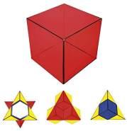 GeoBender Kunstwürfel Primary – das Magnetpuzzle, 3D-Puzzle, Lernspielzeug – magisch und mit viel Fantasie für Kinder und Erwachsene
