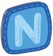 HABA Holzbuchstabe 'N' - 1 Stück, zufällige Auswahl, keine Vorauswahl möglich