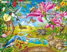 puzzle MaxiBlumen & Bienen 55 Teile