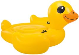 Intex Schwimmtier Ente, Gelb-Orange-Schwarz