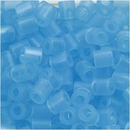 Nabbi® - Bügelperlen 1.100 Stk. ~Ø 5 x H 5 mm hellblau transparent Nr.29
