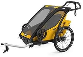 Thule 'Chariot Sport 1' Fahrradanhänger 2021 Spectra Yellow, 1-Sitzer