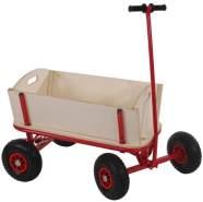Bollerwagen Handwagen Leiterwagen Oliveira ~ ohne Sitz, mit Bremse, ohne Dach