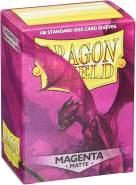 Arcane Tinmen ApS ART11026 - Dragon Shield Matte: Magenta, 100 Stück