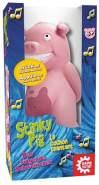 GAMEFACTORY 646173 Stinky Pig, das singende Schweinchen, lustiges Partyspiel für Kinder und Erwachsene