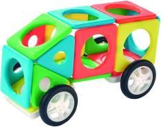 Millennium - Magnets Bau Set Fahrzeug 22 Teile Magnetbausteine - Kreativ-Set, Magnetbaukasten