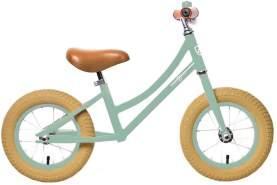 Rebel Kidz 'Air Classic' Laufrad, Runbike, hellgrün, stabile Konstruktion, Lenker und Sattel stufenlos einstellbar
