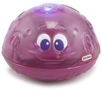 little tikes 173875GR Sparkle Bay Funkelfontäne Oktopus, Wasserspielzeug mit Leucht- und Spritzfunktion, lila