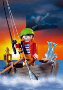 PLAYMOBIL 3937 - Pirat/Ruderboot