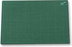 folia 2341 - Schneidunterlage, Bastelunterlage, ca. 30 x 45 cm, mit Gitternetz