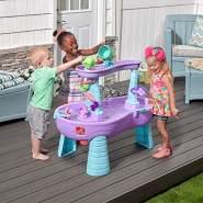Step 2 Tisch Rain Showers Splash Einhorns, 487299, Violett, Blau, Rosa