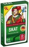 ASS Altenburger 22570000 - Skat - Französisches Bild, Kartenspiel in Faltschachtel