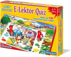 Clementoni 69810 - Mein erstes E-Lektor Quiz