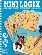 Djeco Aktionspiele und Reflexionsspiele für den Tisch DJECOMini-Logix Hundir die Flotte, Mehrfarbig (1)
