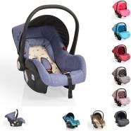 Cangaroo Babyschale Gala, Gruppe 0+ (0-13 kg), Sitzpolster, Fußabdeckung, Farbe:blau