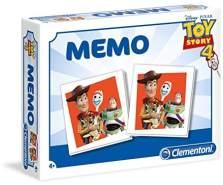 Clementoni 18050 Memo Kompakt-Toy Story 4, Mehrfarben