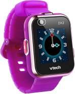 """VTech 'Kidizoom Smart Watch DX2', ab 5 Jahren, LCD Farb-Touchdisplay (1,41"""", 128 x 128 Pixel), inkl. vielen lustigen Uhrmotiven zum Wechseln und aufregenden Bewegungsspielen, lila"""