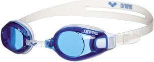 ARENA Zoom Fit Schwimmbrille, Unisex Erwachsene, Blau (Blue/Clear), Einheitsgröße