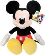 Simba 6315878710 PRO Disney Mouse Club House Mickey, Plüschtier, für Kinder ab den ersten Lebensmonaten geeignet, 61cm